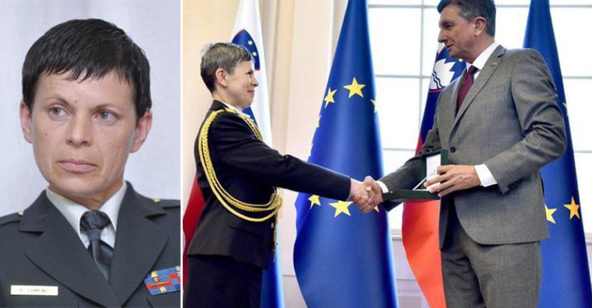 Alenka Ermenc- Slovenia's first female Army Chief of staff | Maza Inside