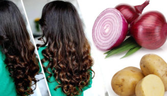 Grow Long Thicken Hair Faster with Onion and Potato