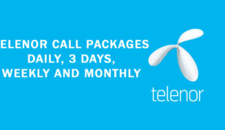 Telenor Call Packages: Daily, 3 Days, Weekly and Monthly 2019
