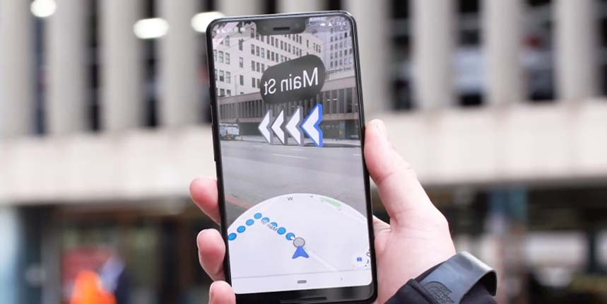 Google Maps is Rolling Out AR Navigation