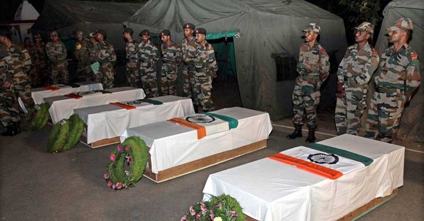 Five Indian soldiers reportedly killed by Pakistan army in retaliatory fire