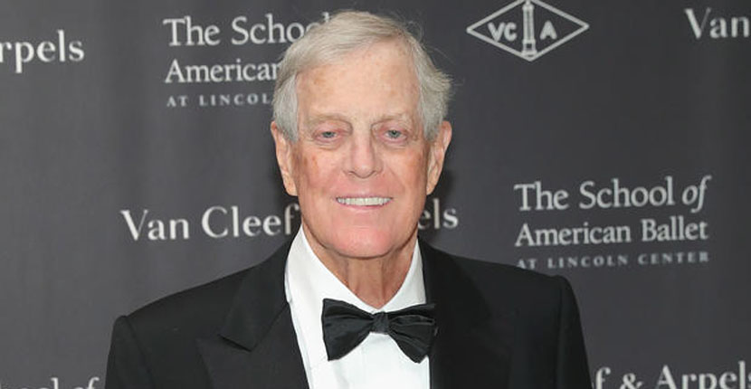 Billionaire David Koch, Republican donor and philanthropist, has died at 79