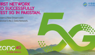 Pakistan on shortlist of 5G ready countries with Zong's successful test