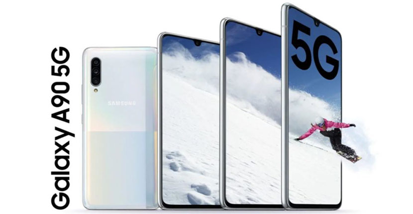 amsung Galaxy A90 5G launched with Snapdragon, 48MP triple camera