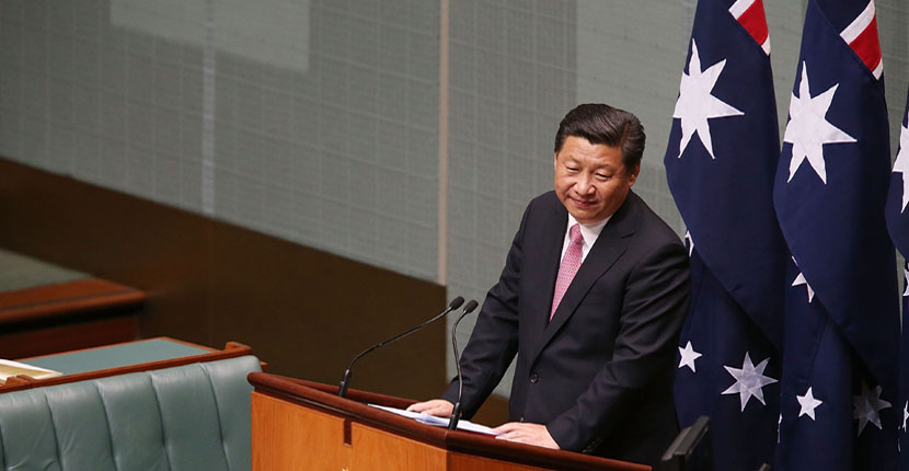 Australia suspends human rights partnership with China over mass detention of Muslims and banning of politicians critical of Beijing
