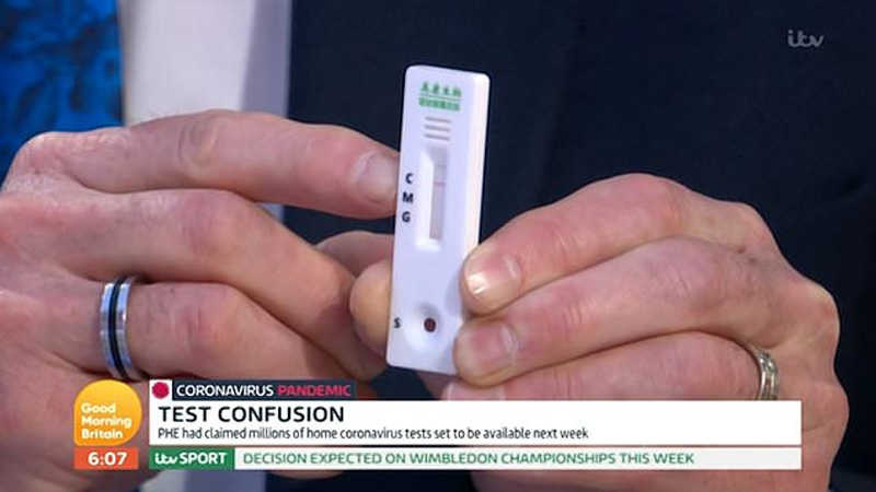 Dr Hilary warns coronavirus testing kits could be dangerous and shouldn't be sold to public